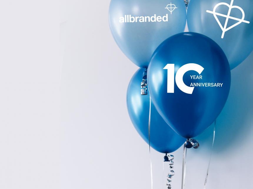 allbranded 10th anniversary