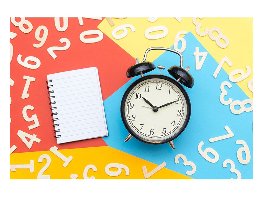Keep track of time with our customised clocks