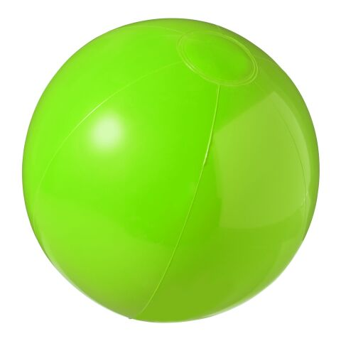 Bahamas Solid Beach Ball  Green | Without Branding