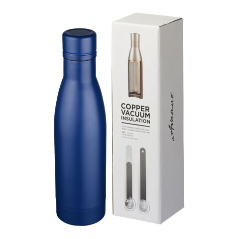 Vasa 500 ml copper vacuum insulated sport bottle Standard | Blue | not available | not available | No Branding
