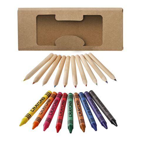 Pencil & Crayon Set