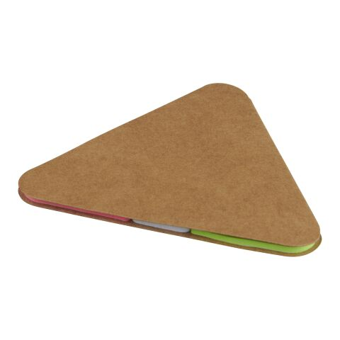 Triangle sticky pad Brown   No Branding   not available   not available