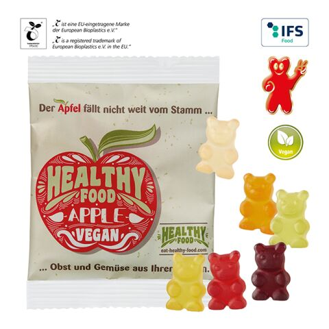 Vegan XXL-Bears in a Compostable Bag