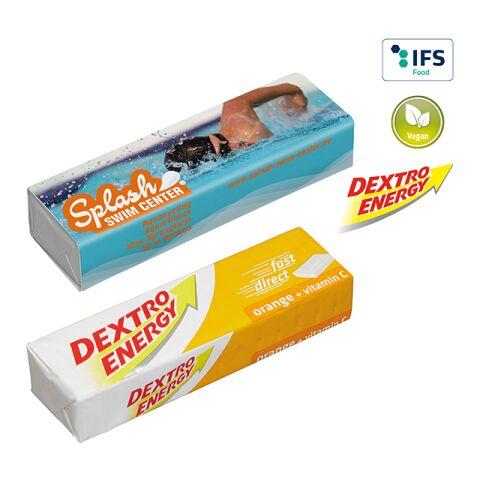 DEXTRO ENERGY Bar - Orange + Vitamin C 2-colour printing