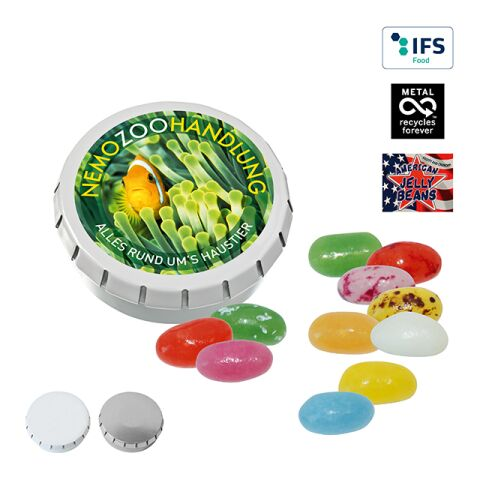 SUPER MINI CLICK CLACK tin with American Jelly Beans