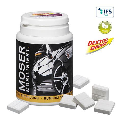 Promo Dispenser DEXTRO ENERGY White   1-colour printing