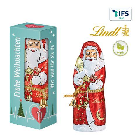 Lindt & Sprüngli Santa Claus in a Gift Box White   1-colour printing