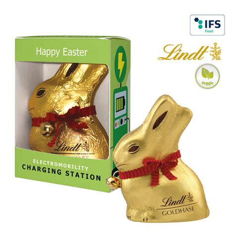 Lindt & Sprüngli Chocolate Bunny in a promotion gift box