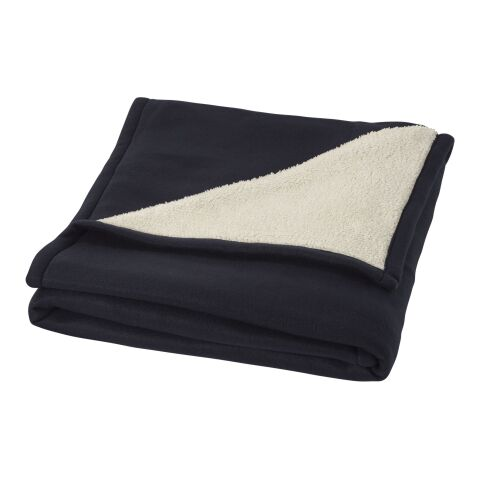 Springwood soft fleece and sherpa plaid blanket