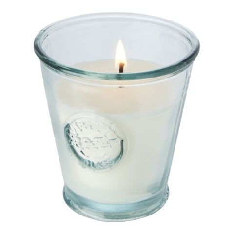 Luzz soybean candle with recycled glass holder