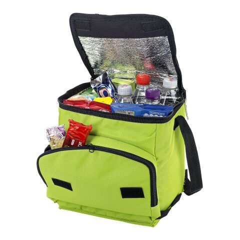 Stockholm foldable cooler bag Lime   not available   not available   No Branding