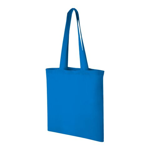 Carolina 100 g/m² cotton tote bag Process Blue | No Branding | not available | not available