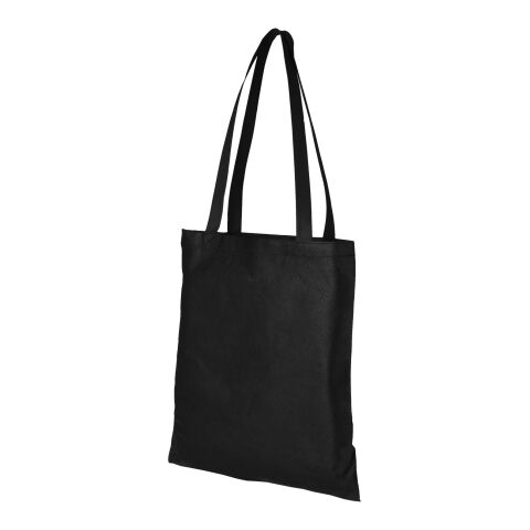 Zeus Non Woven Convention Tote  Black | Without Branding