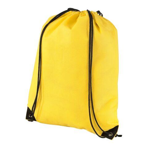 Evergreen non-woven drawstring backpack