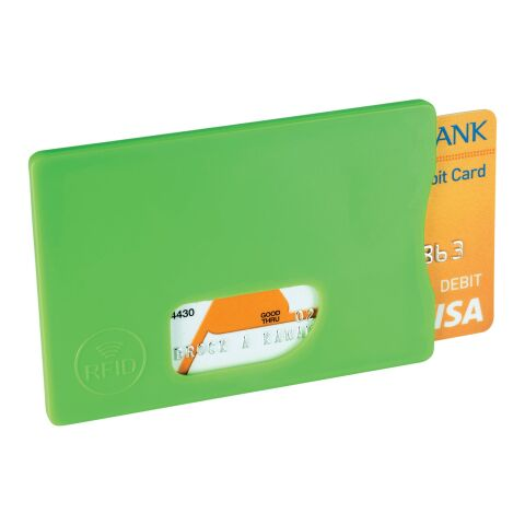 Zafe RFID credit card protector Lime | No Branding | not available | not available