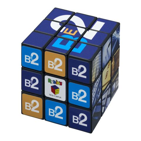 Rubik's Cube® with branding on all sides solid black | not available | not available | No Branding