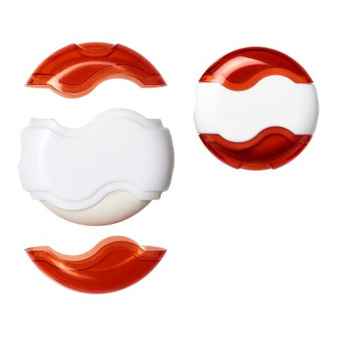 Wave sharpener and eraser White-Red | No Branding | not available | not available
