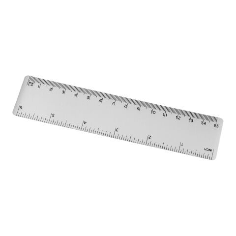 Rothko 15 cm plastic ruler White | No Branding | not available | not available