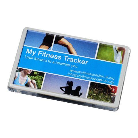 Lure plastic fridge magnet