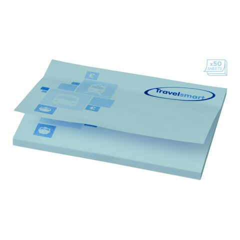 Sticky-Mate® A7 sticky notes 100x75 Light blue | 50 pages | No Branding | not available | not available
