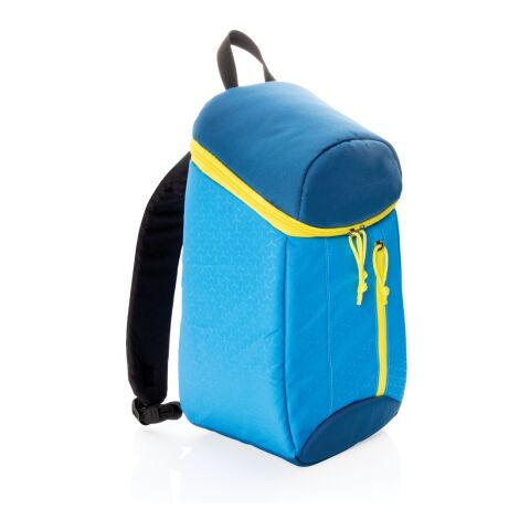 Hiking cooler backpack 10L blue-yellow | Without Branding | not available | not available | not available