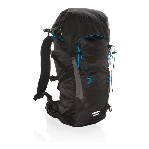 Explorer ribstop large hiking backpack 40L PVC free black-blue | Without Branding | not available | not available | not available