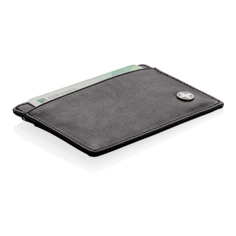 RFID anti-skimming card holder black   No Branding   not available   not available