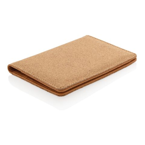 ECO Cork secure RFID passport cover brown | No Branding | not available | not available