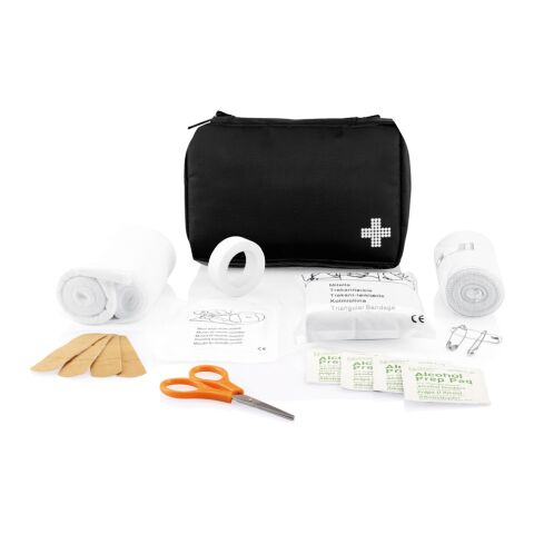 Mail size first aid kit Black | Without Branding | not available | not available