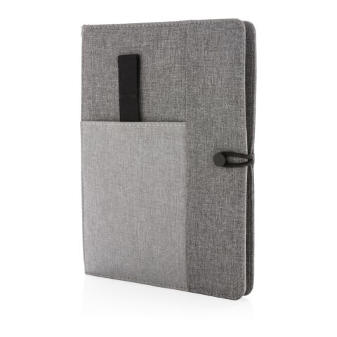 Kyoto A5 notebook cover grey   No Branding   not available   not available