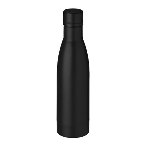 Vasa copper vacuum insulated bottle Black | Without Branding